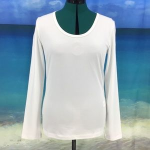 Yest Yamara Basic Cotton Jersey Long Sleeve Tee 12